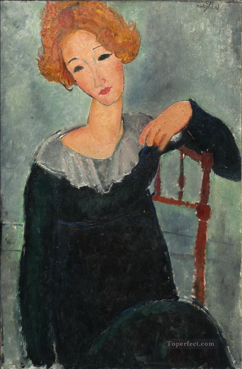women with red hair amedeo modigliani Amedeo Modigliani Oil Paintings
