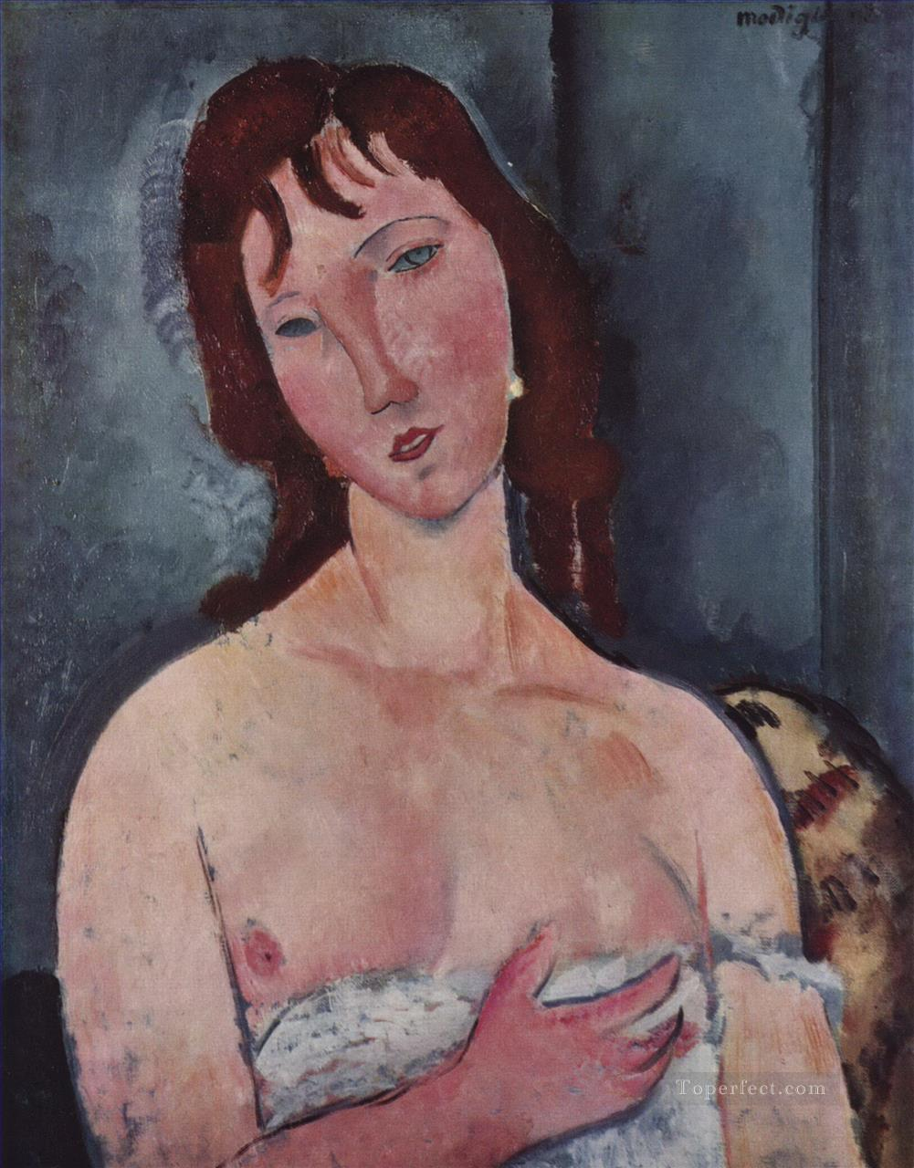 young woman Amedeo Modigliani Oil Paintings