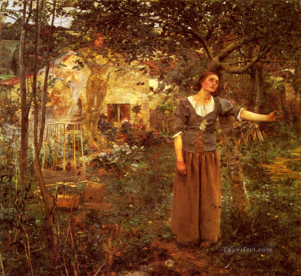 Bastien Lepage Jules Joan Of Arc rural life Jules Bastien Lepage Oil Paintings