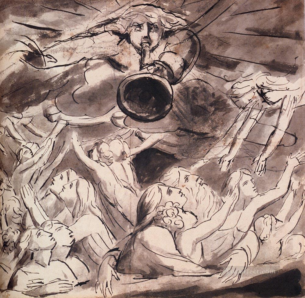 The Resurrection Romanticism Romantic Age William Blake Oil Paintings