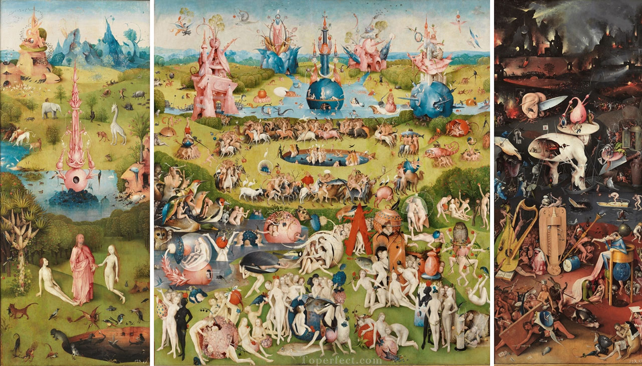 The Garden of Earthly Delights by Bosch High Resolution