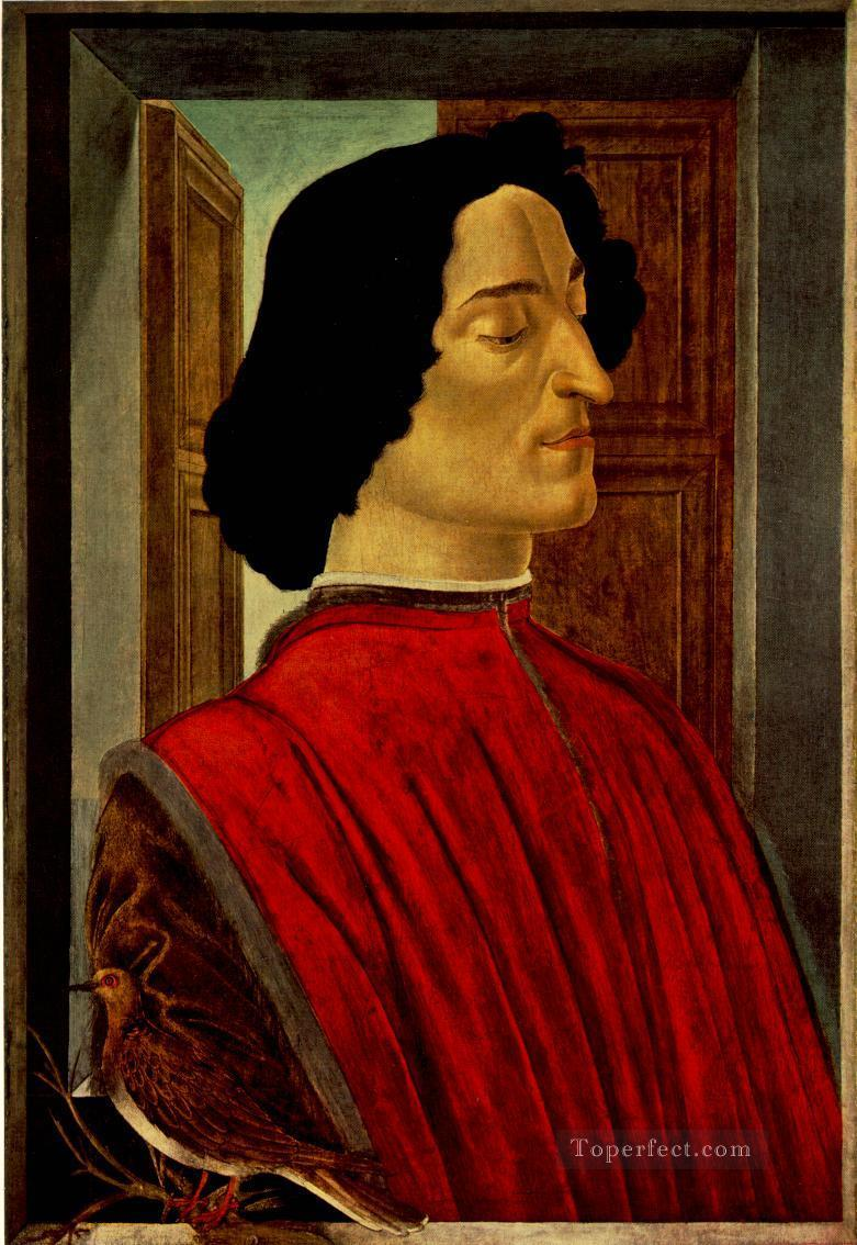 Guliano de Medici Sandro Botticelli Oil Paintings