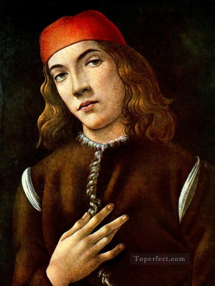 Portrait of a young man 1483 Sandro Botticelli Oil Paintings