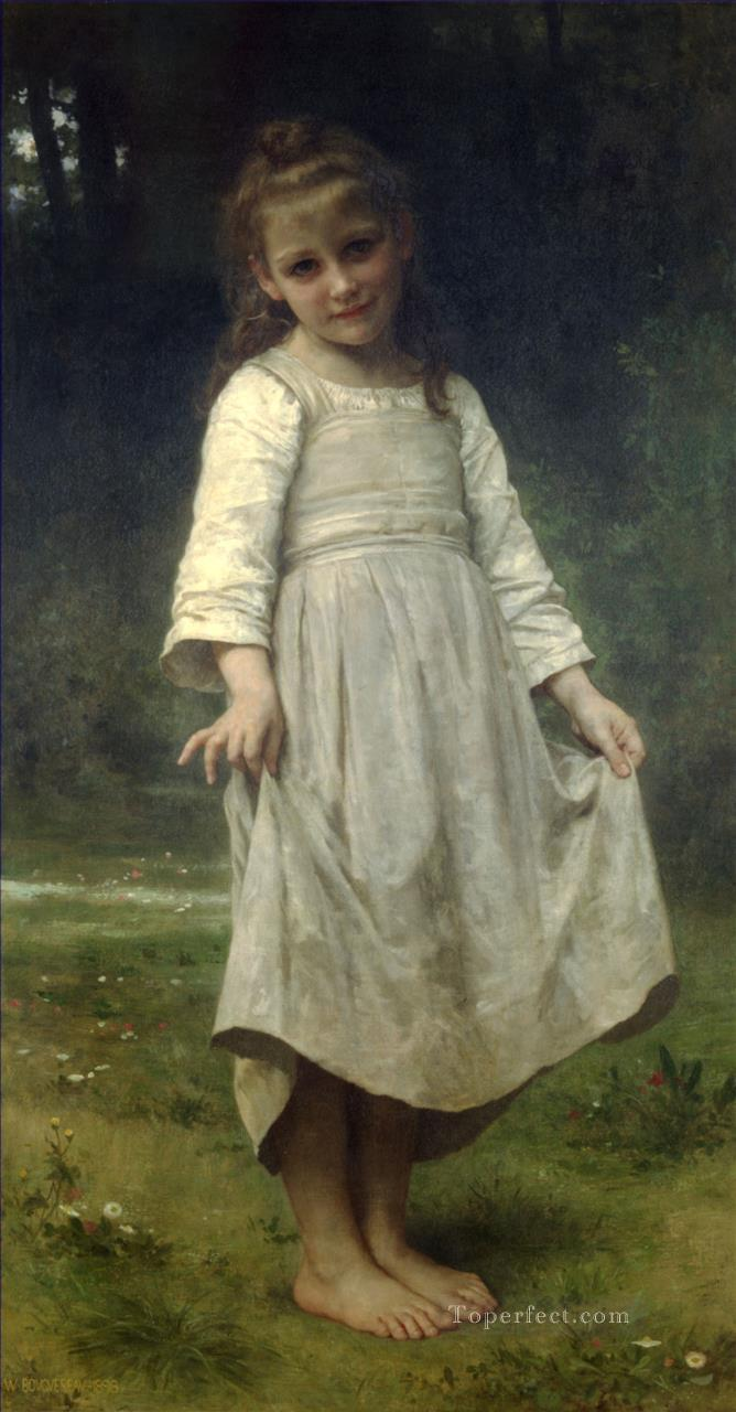 La reverence Realism William Adolphe Bouguereau Oil Paintings