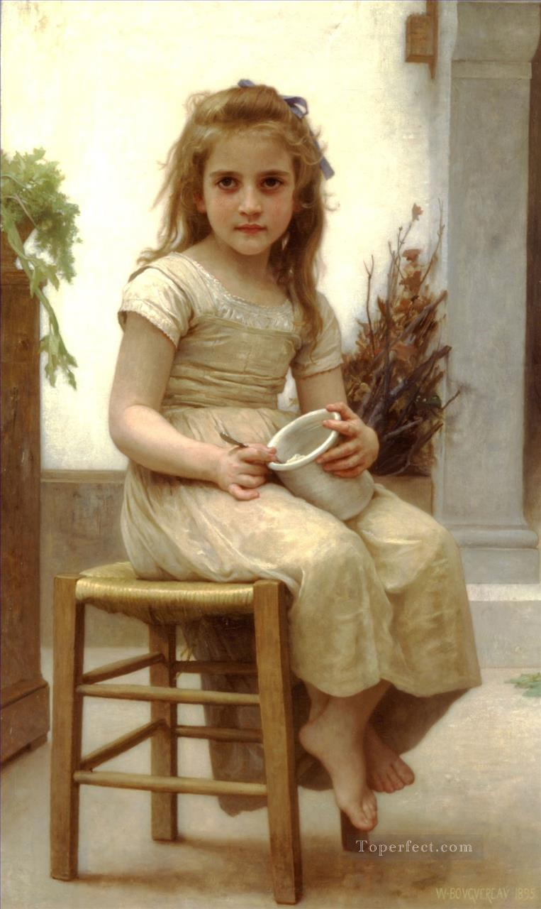 Le gouter Realism William Adolphe Bouguereau Oil Paintings