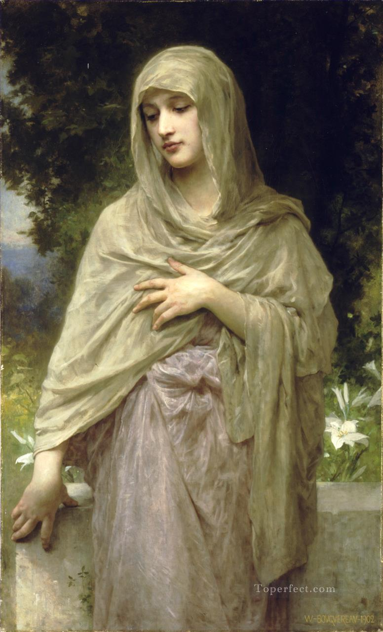 Modestie Realism William Adolphe Bouguereau Oil Paintings