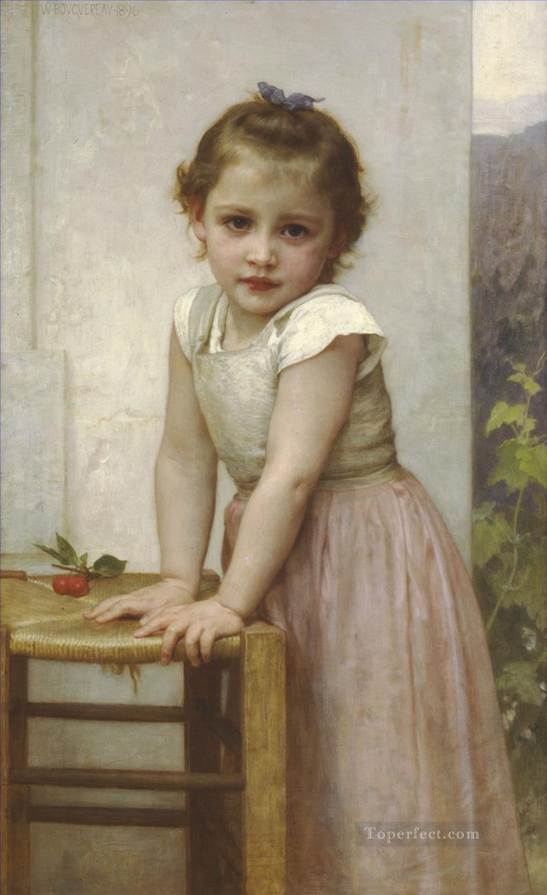 Yvonne Realism William Adolphe Bouguereau Oil Paintings