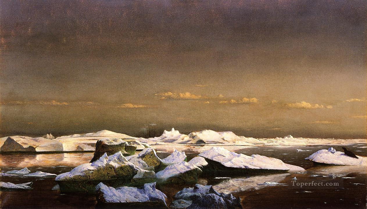 Floe Ice William Bradford Oil Paintings
