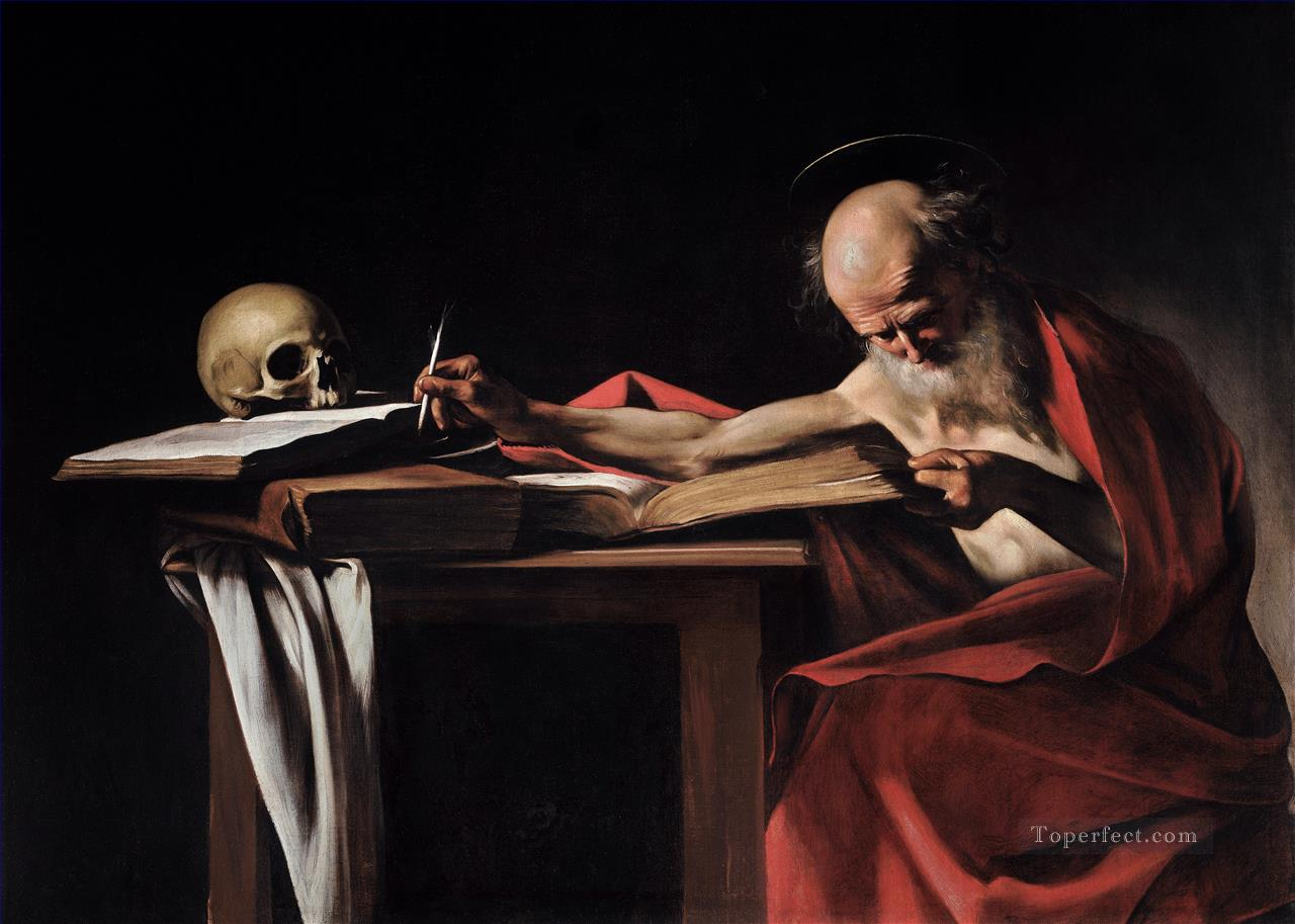 St Jerome2 Caravaggio Oil Paintings