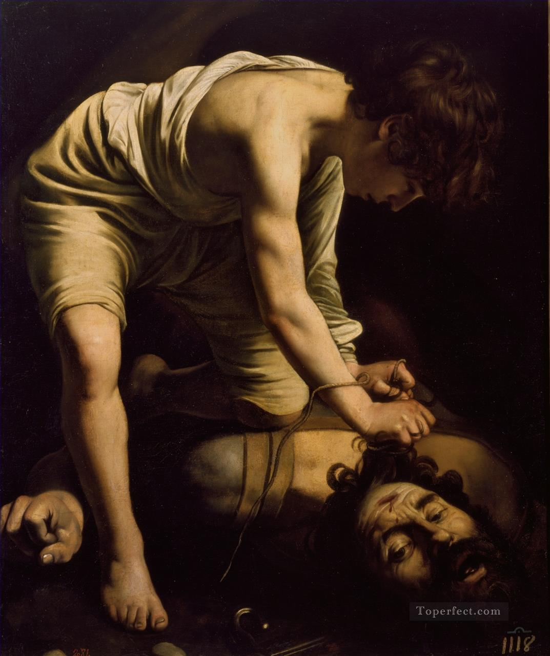 David1 Caravaggio Oil Paintings