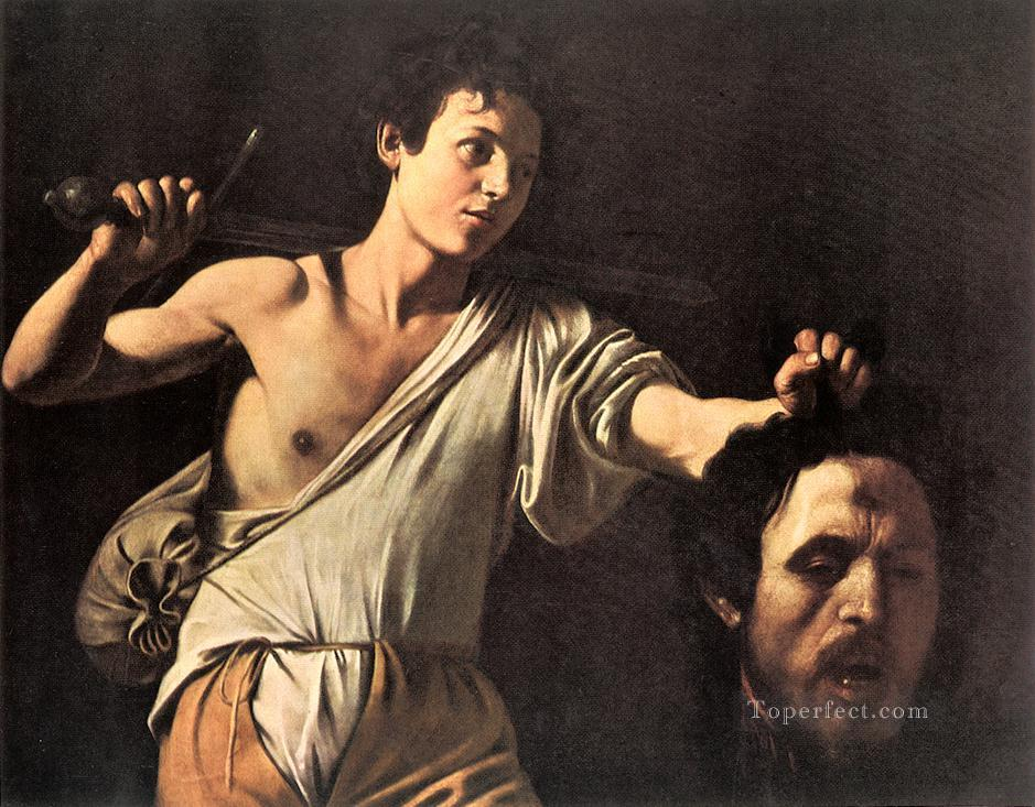 David2 Caravaggio Oil Paintings