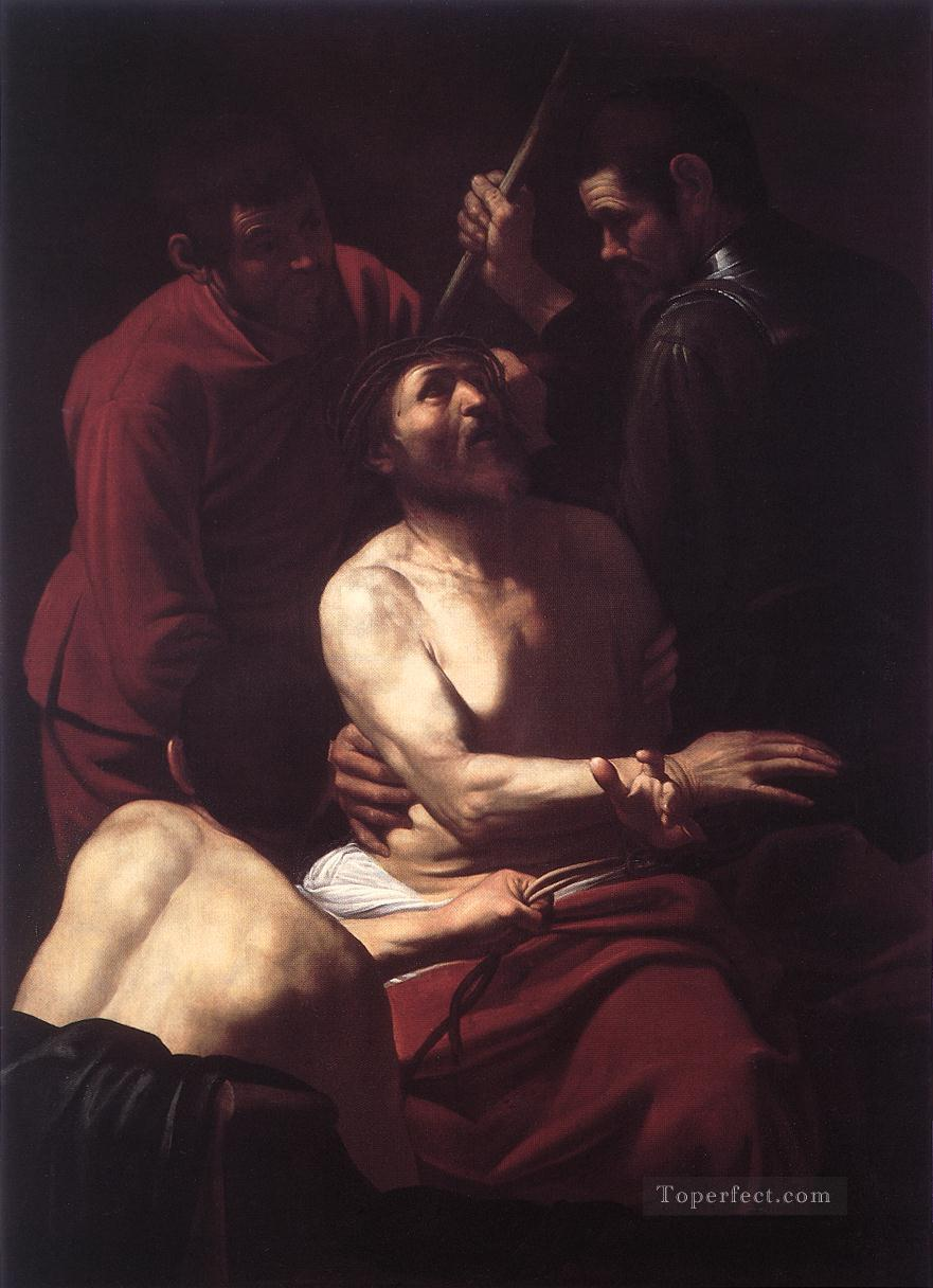 The Crowning with Thorns2 Caravaggio Oil Paintings