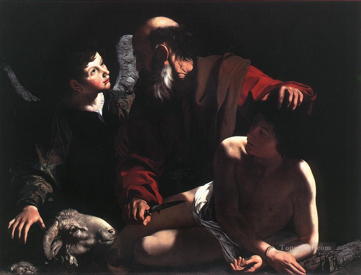 The Sacrifice of Isaac2 Caravaggio Oil Paintings