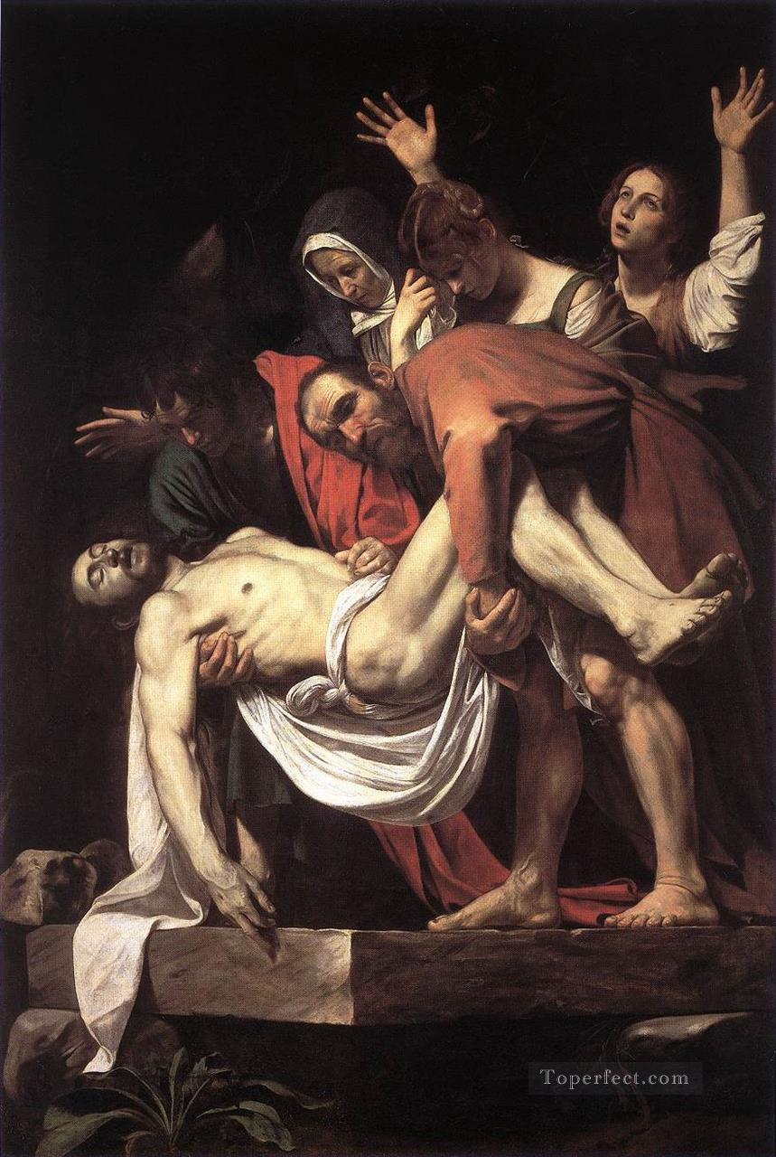 The Entombment Caravaggio Oil Paintings