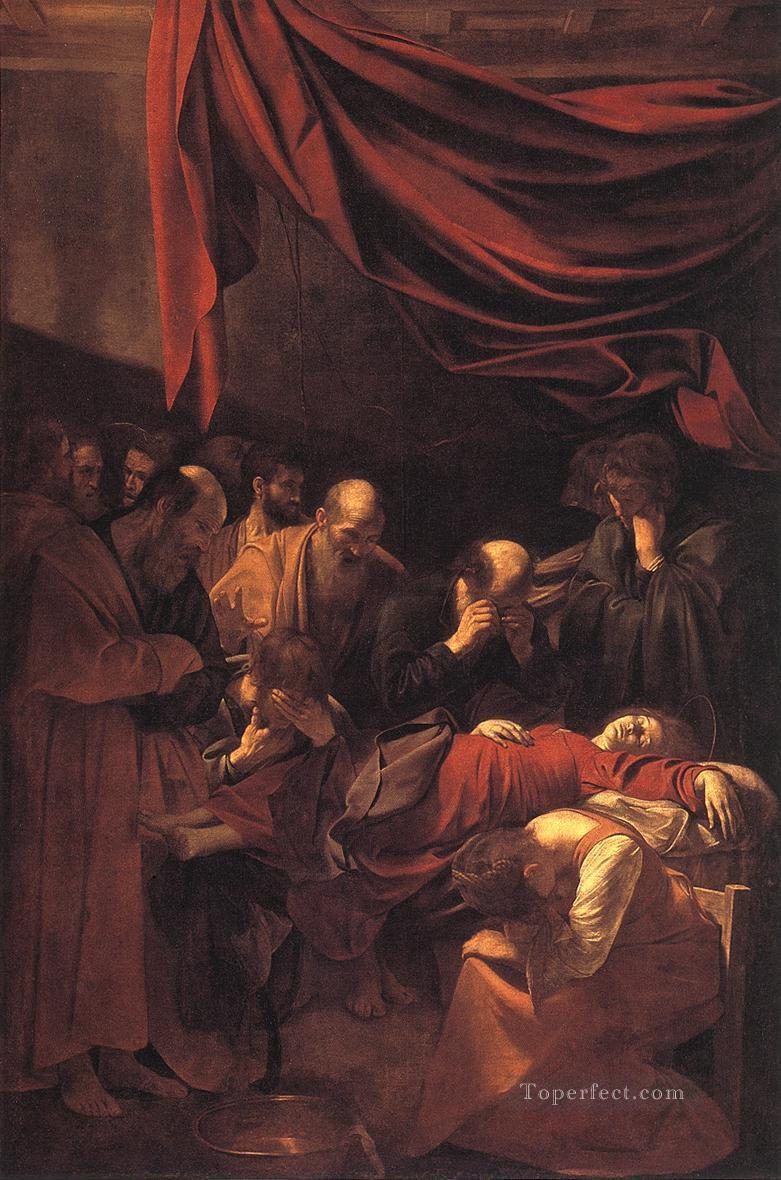 The Death of the Virgin Caravaggio Oil Paintings