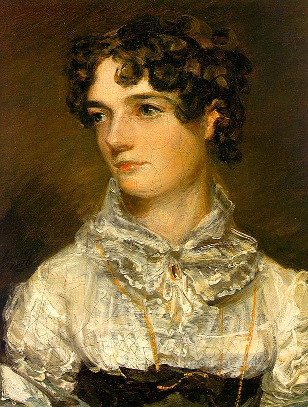 Maria Bicknell Romantic woman John Constable Oil Paintings