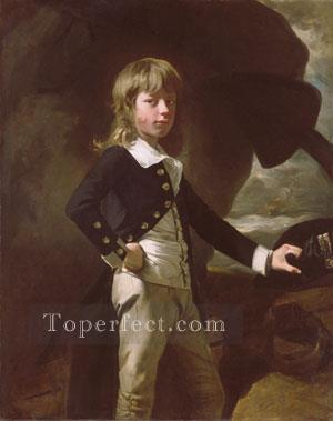 Midshipman Augustus Brine colonial New England Portraiture John Singleton Copley Oil Paintings
