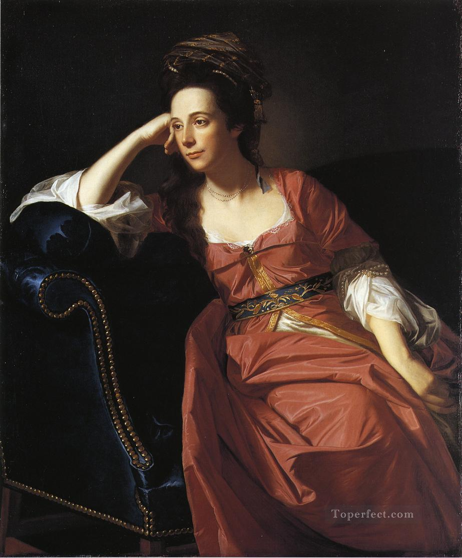 Mrs Thomas Gage Margaret Kemble colonial New England Portraiture John Singleton Copley Oil Paintings