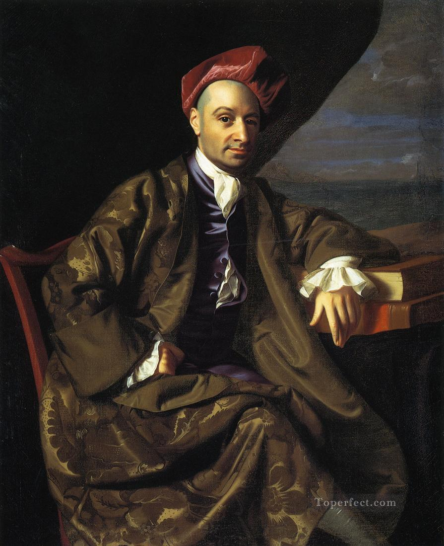 Nicholas Boylston colonial New England Portraiture John Singleton Copley Oil Paintings