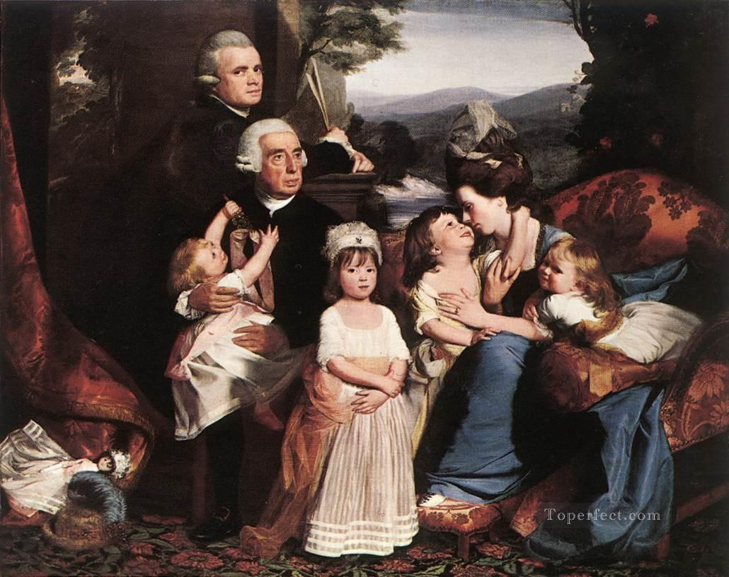 The Copley Family colonial New England Portraiture John Singleton Copley Oil Paintings