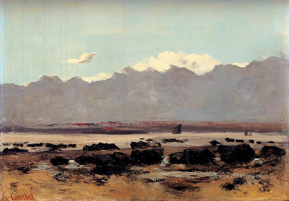 Seascape Near Trouville Realist Realism painter Gustave Courbet Oil Paintings