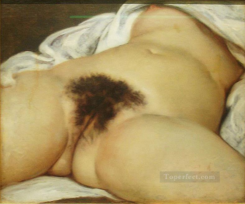 Origin of the World Gustave Courbet Oil Paintings