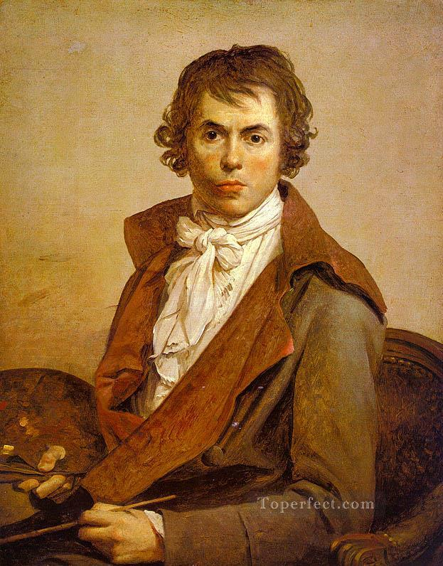 self portrait cgf Neoclassicism Jacques Louis David Oil Paintings