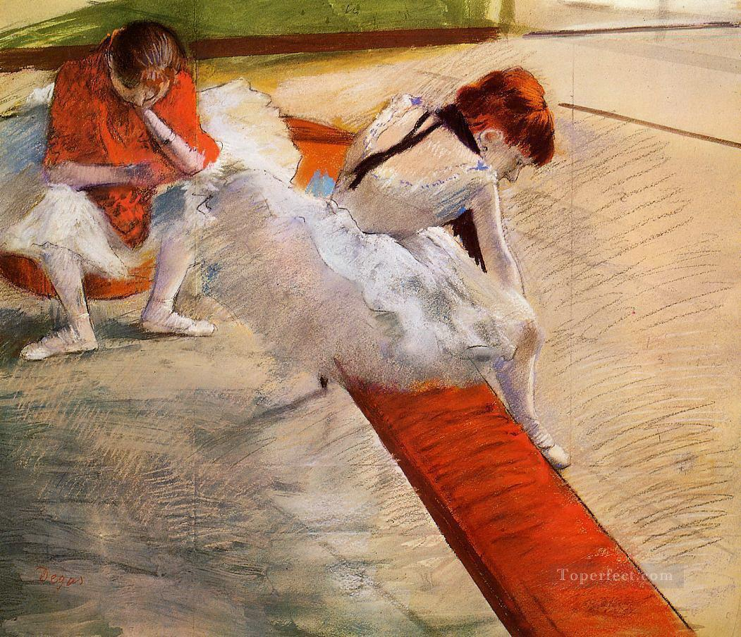 dancers resting 1879 Edgar Degas Oil Paintings