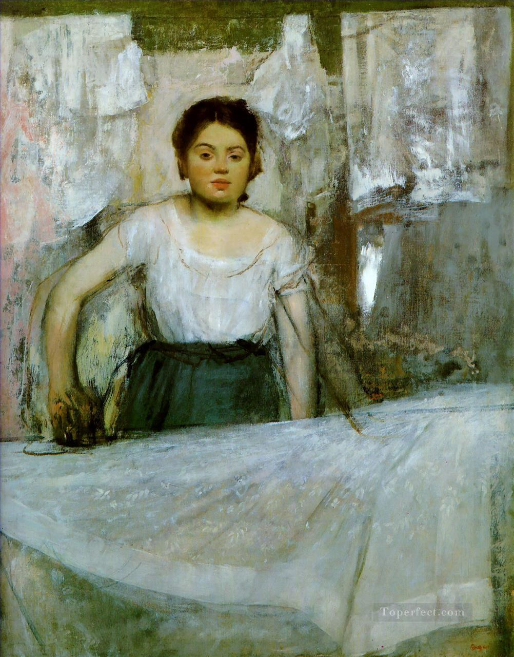 woman ironing Edgar Degas Oil Paintings