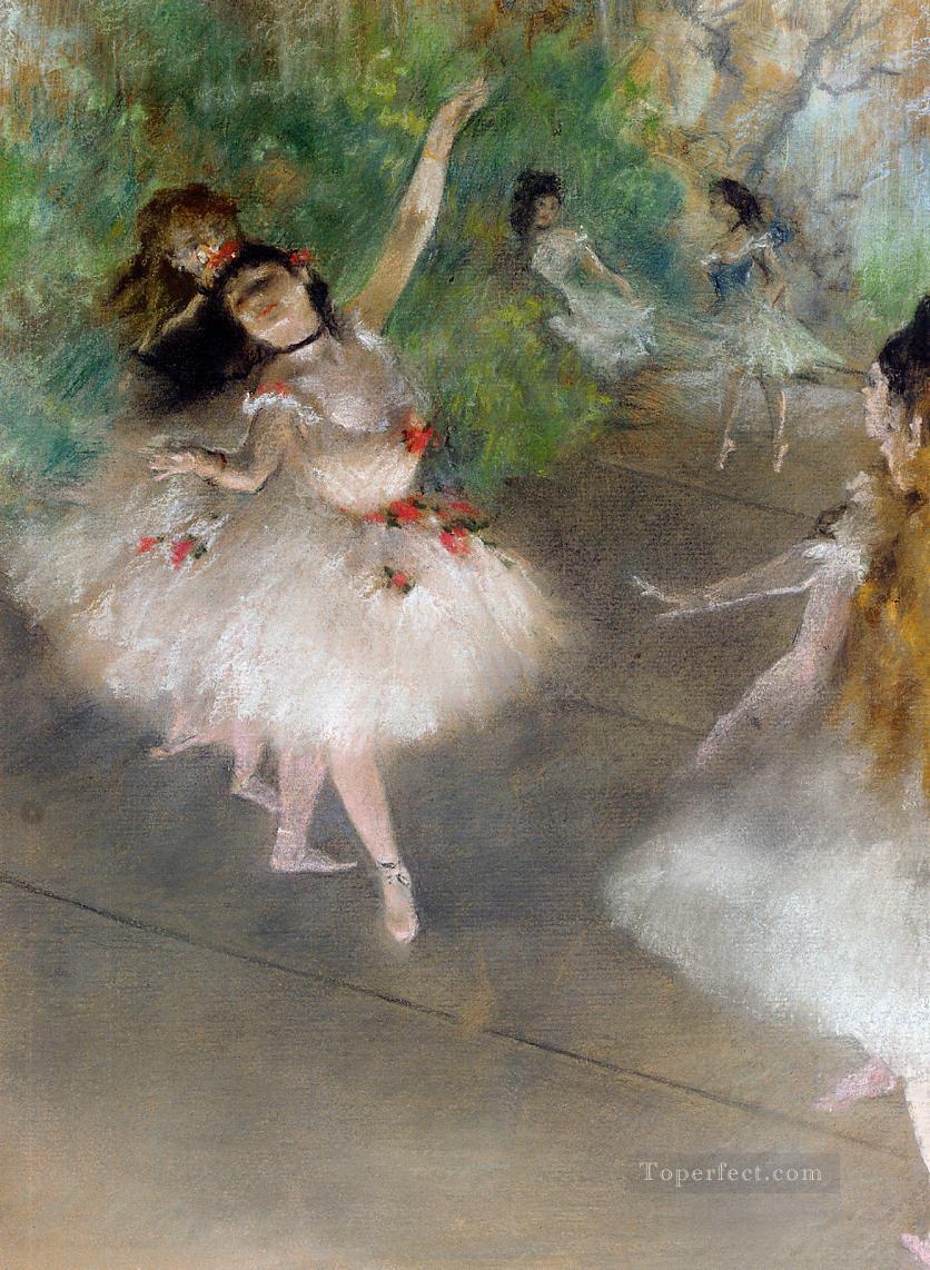 ballet dancers Edgar Degas Oil Paintings