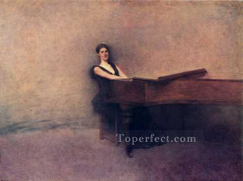 ThePiano Tonalist Aestheticism Thomas Dewing Oil Paintings