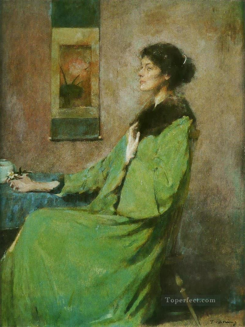 portrait of a woman Thomas Dewing Oil Paintings