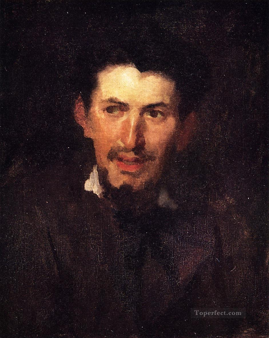 Portrait of a Fellow Artist portrait Frank Duveneck Oil Paintings