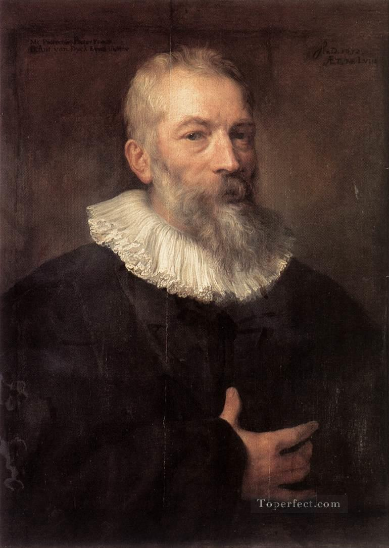 Portrait of the Artist Martin Pepijn Baroque court painter Anthony van Dyck Oil Paintings
