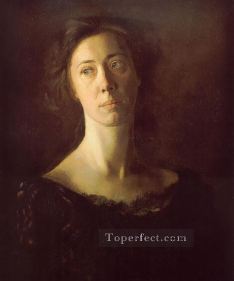 Clara Realism portraits Thomas Eakins Oil Paintings