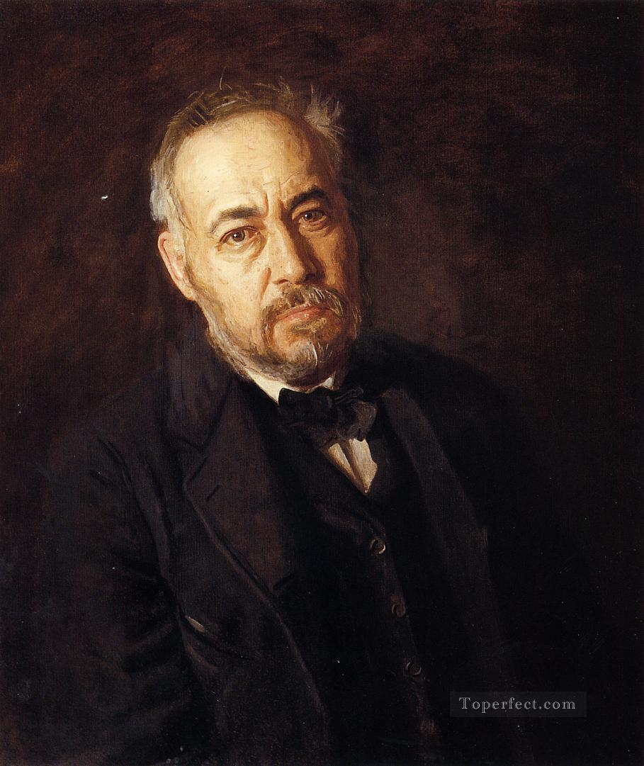 Self Portrait Realism portraits Thomas Eakins Oil Paintings