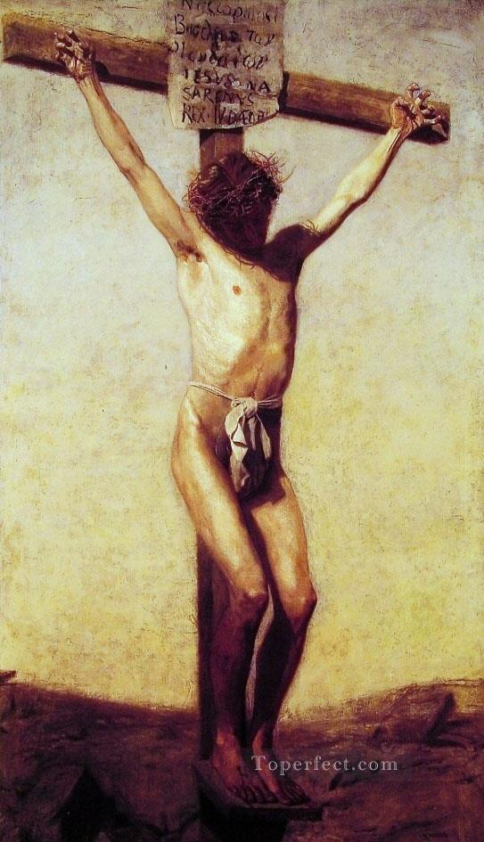 The Crucifixion Thomas Eakins Oil Paintings