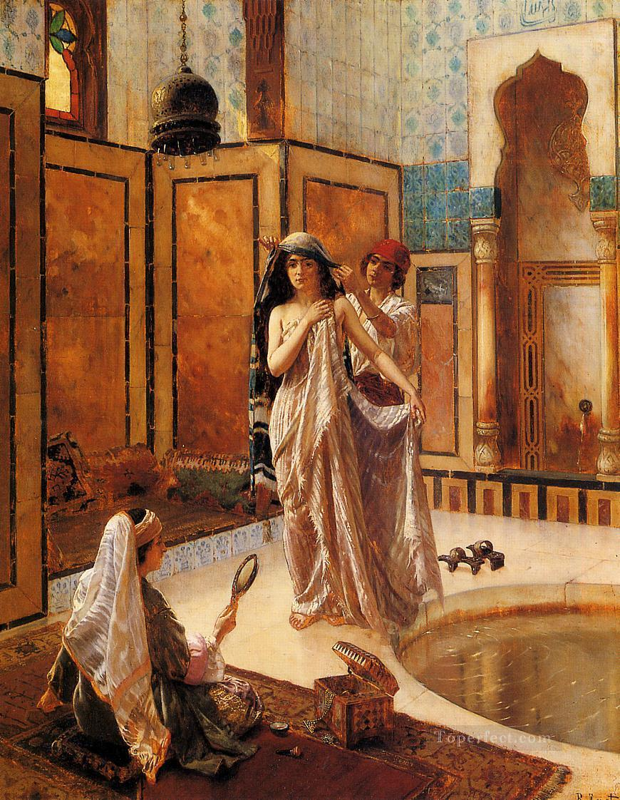 The Harem Bath Rudolf Ernst Oil Paintings