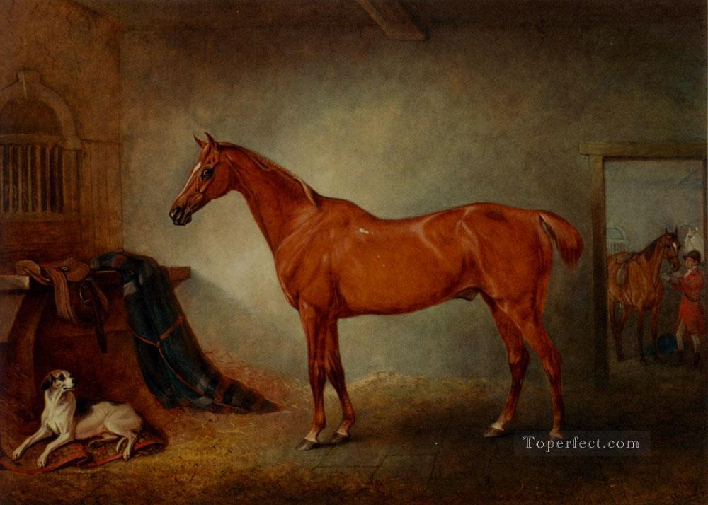 Firebird And Policy horse John Ferneley Snr Oil Paintings
