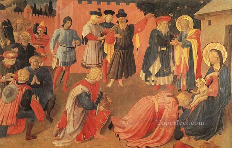 Adoration Of The Magi Renaissance Fra Angelico Oil Paintings