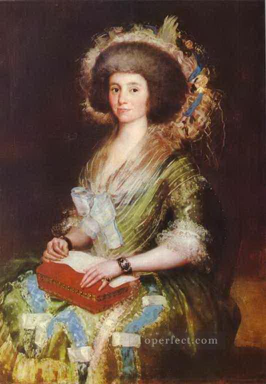 Portrait of Senora Berm sezne Kepmesa Francisco de Goya Oil Paintings