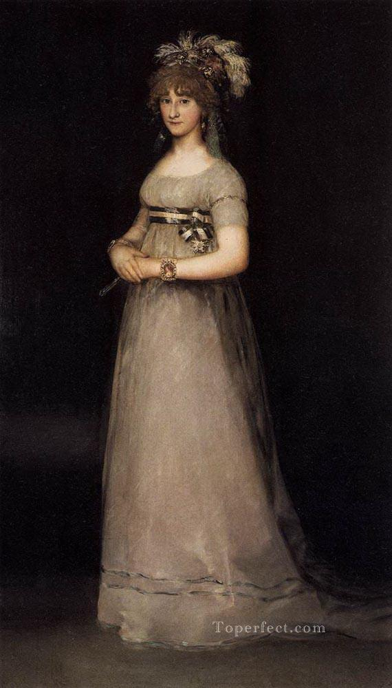 Portrait of the Countess of Chincon Francisco de Goya Oil Paintings