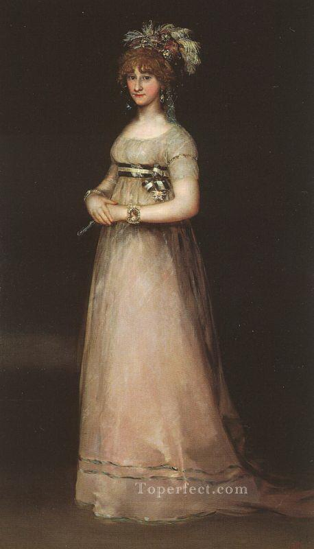 The Countess of Chinchon portrait Francisco Goya Oil Paintings
