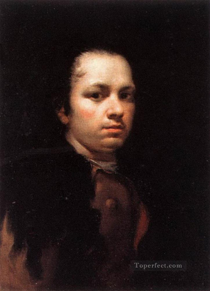 y Lucientes Francisco De Self Portrait portrait Francisco Goya Oil Paintings