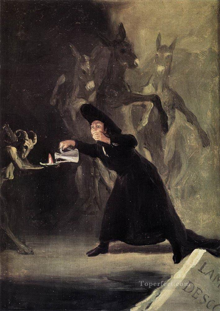 The Bewitched Man Romantic modern Francisco Goya Oil Paintings