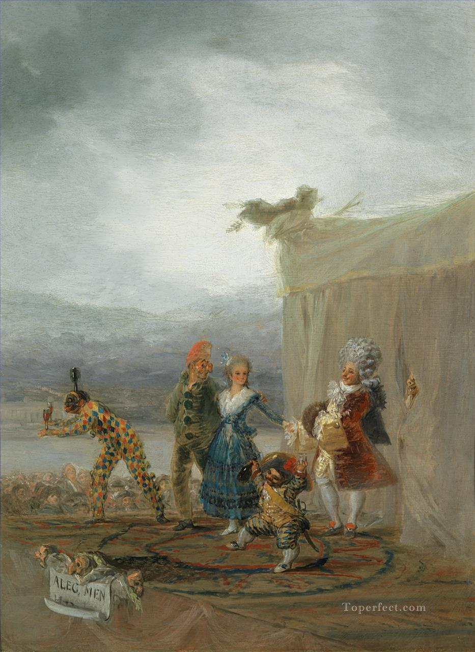 The Strolling Players Francisco de Goya Oil Paintings
