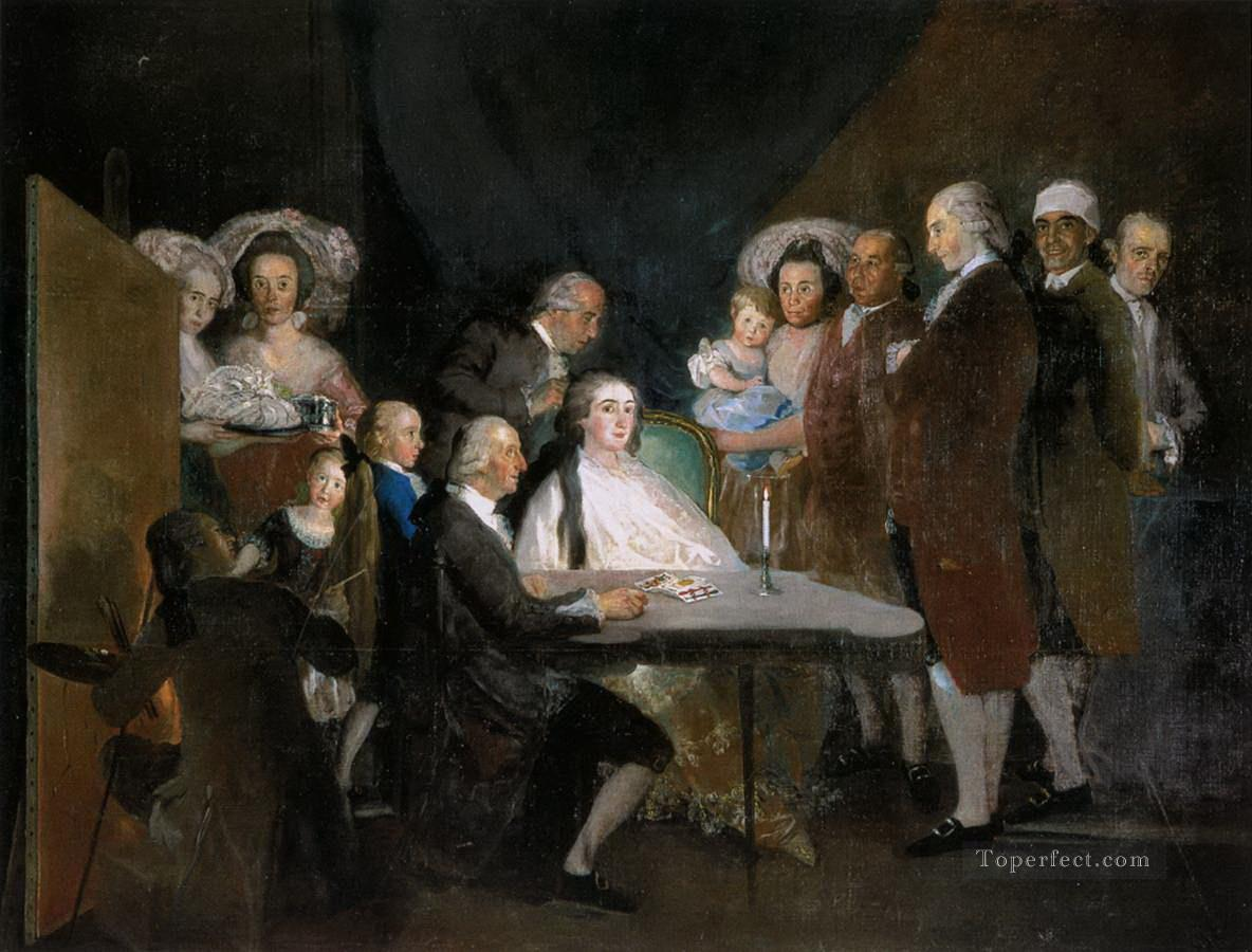 The Family of the Infante Don Luis Francisco de Goya Oil Paintings