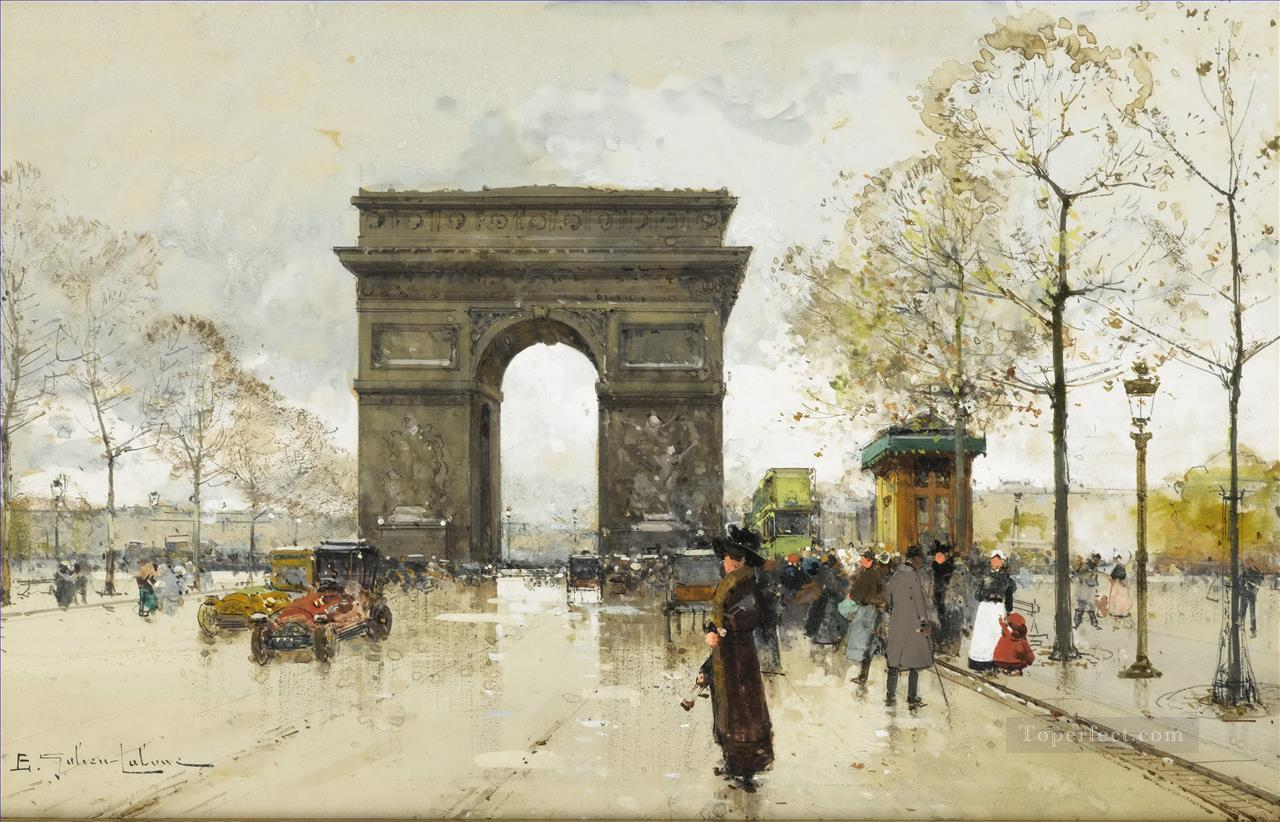 Arc de Triomphe Galien Eugene Oil Paintings