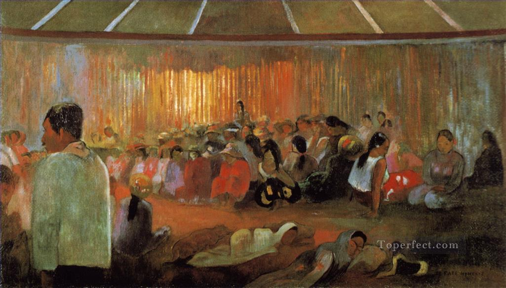 Hut of songs Paul Gauguin Oil Paintings