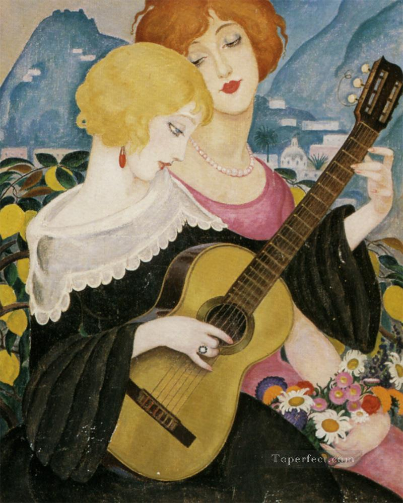 Air de Capri Gerda Wegener Oil Paintings